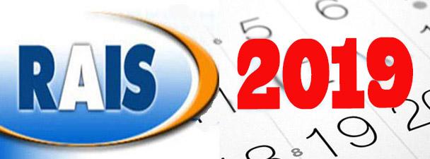 RAIS 2019 deve ser entregue até 5 de abril