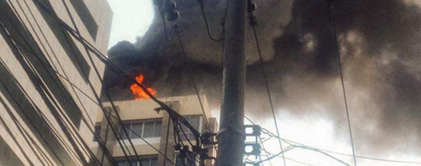 Condomínios devem seguir regras para evitar incêndios
