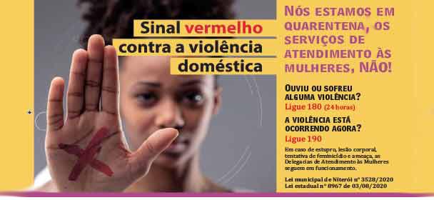 Condomínios entram na campanha da violência contra a mulher