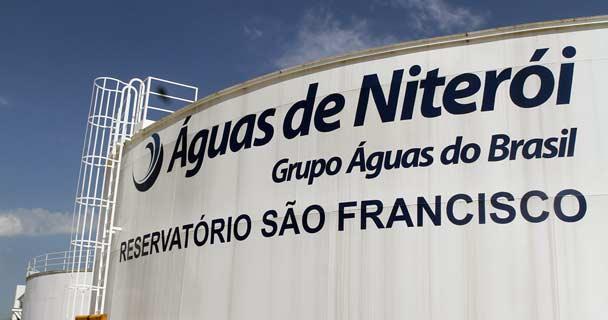 Águas de Niterói aumentará contas em 2,19%, em julho